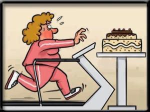 cake-and-treadmill